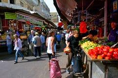 Carmel Market Shuk HaCarmel a Tel Aviv, Israele Fotografie Stock