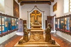Carmel misja San Carlos Borromeo obrazy royalty free