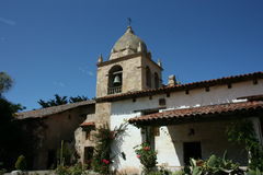 Carmel Mission 03. Mission San Carlos Borromeo de Carmelo, Monterey, California Stock Photo
