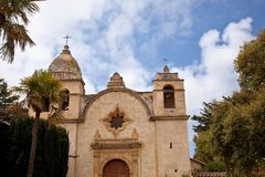 Free Carmel Mission Royalty Free Stock Photography - 15841187