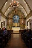 Carmel Mission Basilica, Carmel-da--mare Fotografia Stock