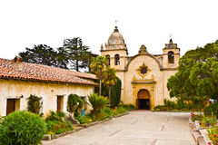 Carmel Mission. In California without people Royalty Free Stock Image