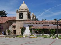 Carmel Mission in Carmel California Stock Photography