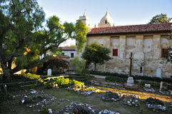 Free Carmel Mission Cemetery Stock Image - 48951031