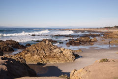 Carmel morzem, CA Obrazy Royalty Free