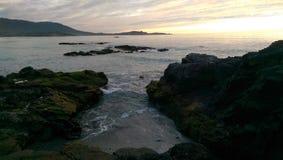 Carmel-By-The-Sea. Carmel Beach provides gorgeous views of the sea Stock Photography