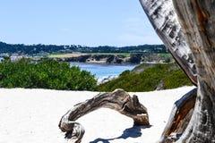 Carmel beach Carmel in California Stock Images