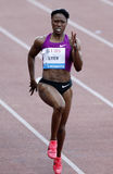 Carmelita Jeter (USA) Royalty Free Stock Photography