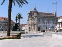 Carmelitas και εκκλησία του Carmo, Πόρτο, Πορτογαλία Στοκ φωτογραφίες με δικαίωμα ελεύθερης χρήσης