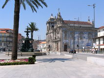 Carmelitas and Carmo church, Porto, Portugal Royalty Free Stock Photos