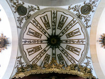 Ceiling of Carmelitas Church in Porto Stock Photography