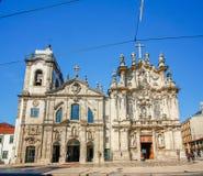 Carmelitas-Kirche und Carmo-Kirche, Porto, Portugal Stockbild