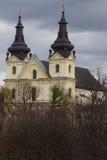 Carmelite католическая церковь в Львове, Украине Стоковые Фотографии RF
