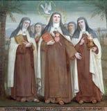 Carmelite святой стоковое фото rf