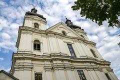 Carmelite церковь в Львове, Украине стоковая фотография rf
