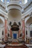 Carmelite altaar van de Kerk Stock Afbeelding