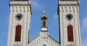 Carmelite church Royalty Free Stock Photography