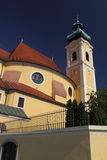 Carmelite Church in Gyor Stock Photos