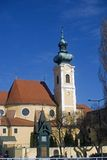 Carmelite church, Gyor, Hungary Royalty Free Stock Images