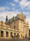 The Carmelite Church in Krakow, Poland Stock Photography