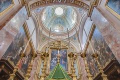 Carmelite Church in Mdina, Malta Royalty Free Stock Photos