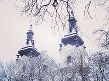 Carmelite Church, Lviv Royalty Free Stock Photo