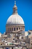 Carmelite church, Malta Stock Image