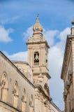 Carmelite Church in Mdina, Malta Stock Images