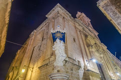 Carmelite Church in Mdina, Malta Stock Photography