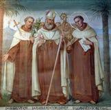 Carmelite Heilige Stockfotos