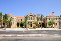 Carmelite monastery,  Haifa Stock Images