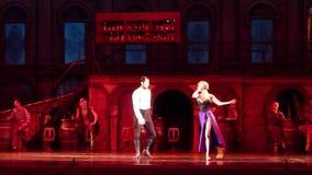 Carmen και μπαλέτο του Jose απόθεμα βίντεο
