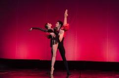 Carmen apartamentu balet Zdjęcia Royalty Free