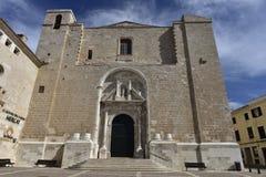 Carmen Church, Mahon, Spain Stock Image