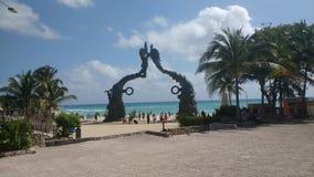 carmen del playa Royaltyfri Foto