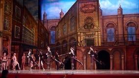 Carmen en het ballet van Jose stock videobeelden