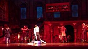 Carmen en het ballet van Jose stock footage