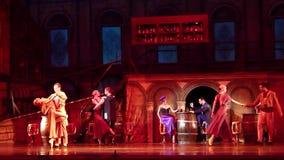 Carmen en het ballet van Jose stock video