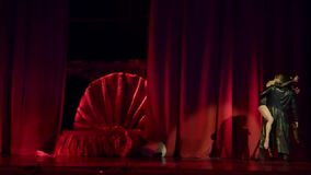 Carmen en Jose balle stock video