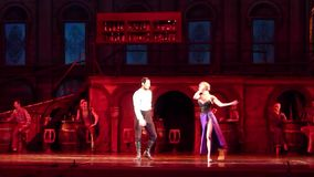 Carmen and Jose ballet. DNIPRO, UKRAINE - DECEMBER 2, 2016: Carmen and Jose ballet performed by members of the Dnipro State Opera and Ballet Theatre stock video footage