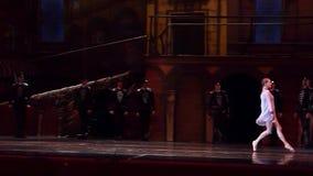 Carmen and Jose ballet stock footage