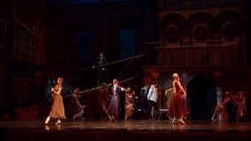Carmen and Jose ballet stock video