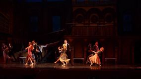 Carmen and Jose ballet stock video footage