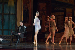 Carmen and Jose. DNIPRO, UKRAINE - NOVEMBER 27, 2016: Carmen and Jose ballet performed by members of the Dnipro  State Opera and Ballet Theatre Stock Photography