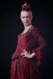 Carmen styl obraz royalty free