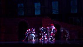 Carmen- und Jose-Ballett stock footage