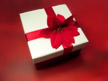 Carmesí presente Foto de archivo libre de regalías