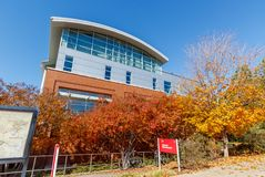 Carmichael Recreation Center at NC State University. RALEIGH, NC, USA - NOVEMBER 24:  Carmichael Recreation Center on November 24, 2017 at North Carolina State Stock Photo