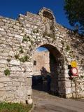 Carmim de Porta, Erice, Itália Imagem de Stock Royalty Free