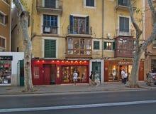 Carmina and Gant fashion boutiques Stock Photo